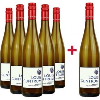 5+1 Paket 2019 Niersteiner Riesling trocken  - Weingut Louis Guntrum