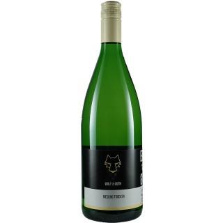 2018 Riesling trocken 1,0 L - Weingut Wolf & Guth