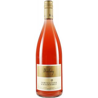 2019 Portugieser Weißherbst halbtrocken 1,0 L - Weinwerkstatt Barbey