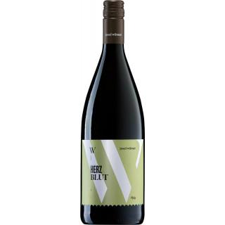 2020 Herzblut Rotwein süß 1,0 L - Weingut Josef Wörner