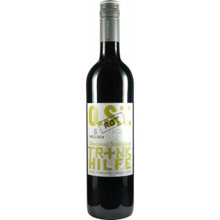 "2017 ""Trinkhilfe rot trocken - Weingut Siegloch"
