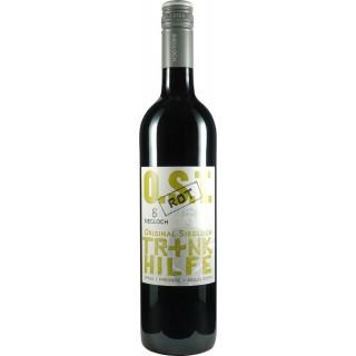 "2018 ""Trinkhilfe rot trocken - Weingut Siegloch"