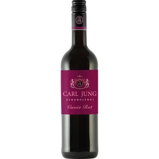 Cuvée Rot Alkoholfrei (6 Flaschen) - Carl Jung