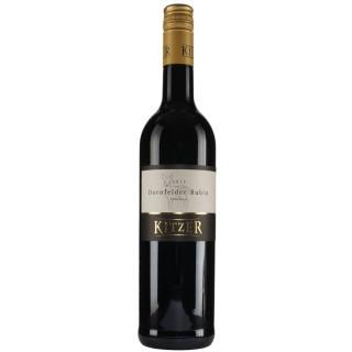 2018 Dornfelder Rubin QbA Trocken - Weingut Kitzer