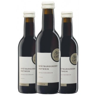 3x 2017 Spätburgunder Qualitätswein 0,25L - Alde Gott Winzer Schwarzwald