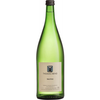 2018 Bacchus halbtrocken 1L - Weingut Thomas Mend