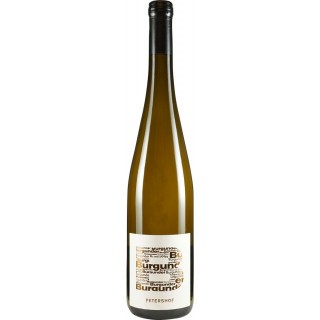 "2018 Grauer Burgunder ""B"" Trocken - Weingut Petershof"