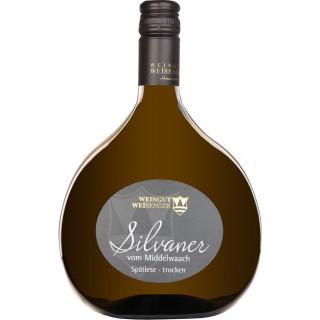 2018 Sommeracher Katzenkopf Silvaner vom Middelwaach Spätlese trocken - Weingut Weisensee