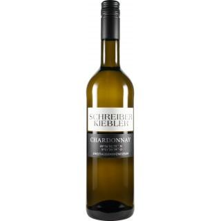 """2015 Chardonnay 49°56'04.8""""N 8°11'29.4""""E - Weingut Schreiber-Kiebler"""