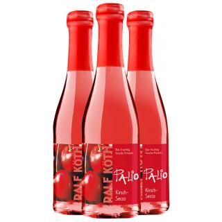 3x Palio Kirsch-Secco 0,2 L - Wein & Secco Köth