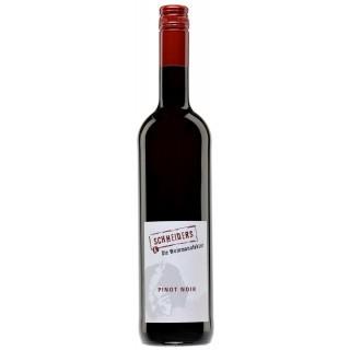 2017 Pinot Noir trocken Eichenholzfass-gereift - Weingut Weinmanufaktur Schneiders