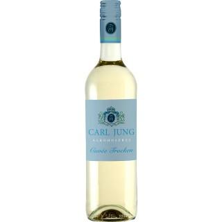 Cuvée Weiss trocken Alkoholfrei (6 Flaschen) - Carl Jung