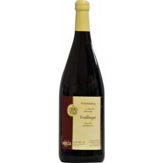 2019 Abstatter Schozachtal Trollinger-Lemberger halbtrocken 1L - Weinkellerei Wangler