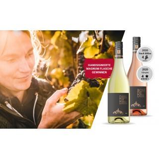 WEIN-HIGHLIGHT NR. 10 Handsignierte Magnum Flasche von Caroline Diel