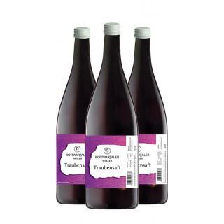 3x 2019 Traubensaft 1,0 L - Bottwartaler Winzer