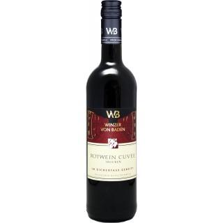 2018 Rotwein Cuvée Im Eichenfass gereift trocken - Winzer von Baden