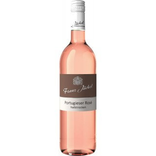 2017 Wallhäuser Pfarrgarten Portugieser Rosé halbtrocken - Weingut Franz Jäckel