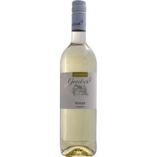 2019 Rivaner trocken - Weingut Genetsch