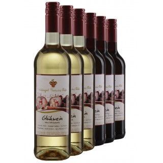 2019 Das Winzerglühwein Paket rot & weiß - Weingut Thomas-Rüb