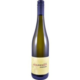 2017 Grauburgunder Spätlese trocken - Weinbau Schreiber