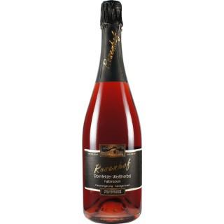 Dornfelder Weißherbst Sekt b.A. halbtrocken - Wein- und Sektgut Rosenhof