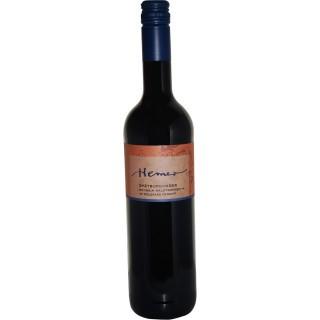 2016 Spätburgunder Rotwein halbtrocken BIO - Weingut Hemer