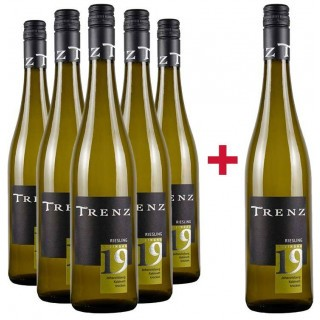 5+1 Johannisberger Riesling Kabinett trocken Paket - Weingut Trenz