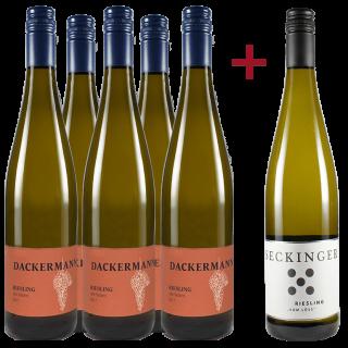 Jungwinzer Riesling Paket - Weingut Dackermann / Gut Seckinger