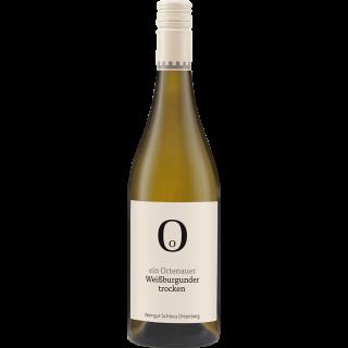 Ein Ortenauer Weißer Burgunder QbA trocken - Weingut Schloss Ortenberg