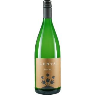 2020 Bacchus feinherb 1,0 L - Weingut Lentz