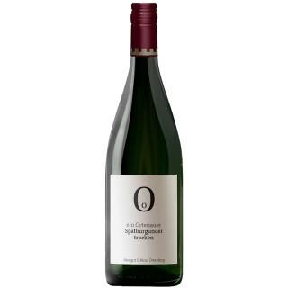 2019 Spätburgunder Qualitätswein trocken 1,0 L - Weingut Schloss Ortenberg
