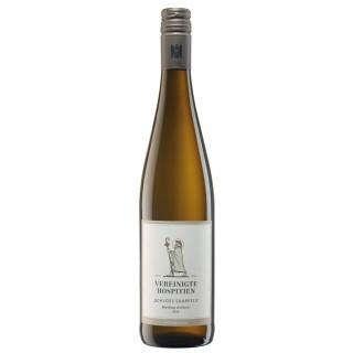 """2020 """"Schloss Saarfels"""" Riesling Qualitätswein trocken - Weingut Vereinigte Hospitien"""