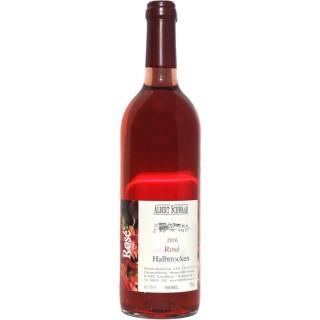 2018 Rosé QbA Halbtrocken - Weingut Albert Schwaab