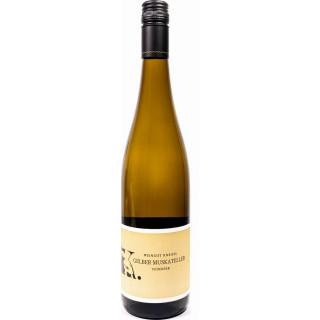 2020 Gelber Muskateller feinherb - Weingut Kneisel