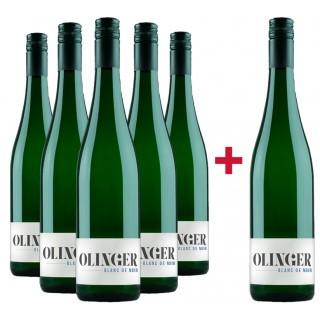 5+1 Paket Blanc de Noir trocken - Gebrüder Müller-Familie Olinger
