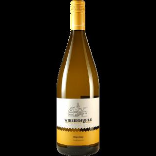 2018 Riesling QbA halbtrocken 1L - Wein & Sekt Wiesenmühle