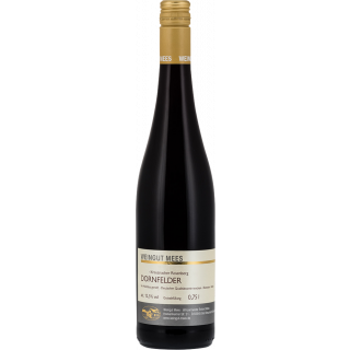 2017 Dornfelder Rotwein trocken Kreuznacher Rosenberg Nahe QbA - Weingut Mees