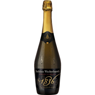 Hommage 1836 weiß b.A. Sachsen Klassische Flaschengärung extra trocken - Sächsisches Staatsweingut Schloss Wackerbarth