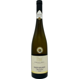 """2019 Grauer Burgunder """"Alte Rebe"""" Selection / Guntersblum trocken - Weingut Burghof Oswald"""