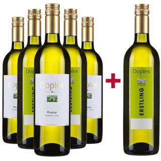 5+1 Müller-Thurgau Paket - Weingut Dopler