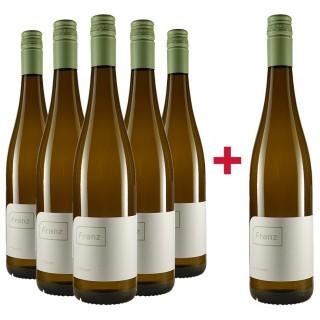 5+1 Paket Silvaner trocken - Weingut Franz