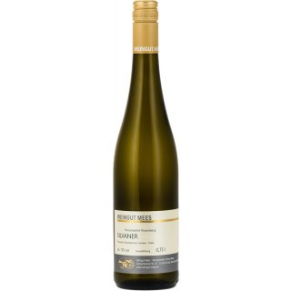 2019 Chardonnay Kreuznacher Rosenberg Nahe Weißwein Lagenwein trocken - Weingut Mees