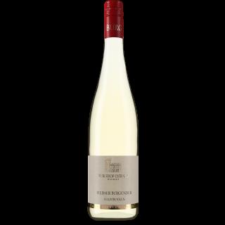 2018 Weißer Burgunder halbtrocken - Weingut Burghof Oswald