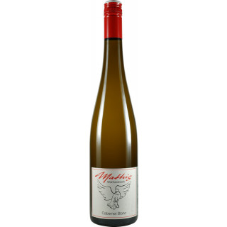 2018 Cabernet Blanc QbA feinherb - Weingut Mathis