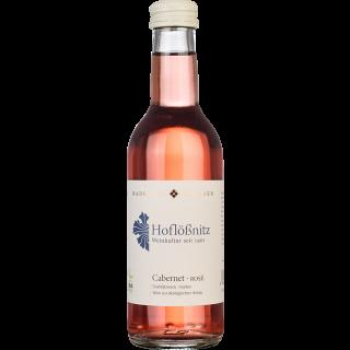 2017 Cabernet rosé 0,25L trocken Bio - Weingut Hoflößnitz