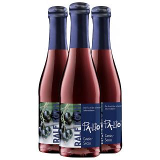 3x Palio Cassis-Secco 0,2 L - Wein & Secco Köth