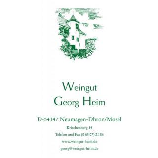 2019 Dhroner Hofberger Spätlese Schwarzriesling trocken - Weingut Georg Heim