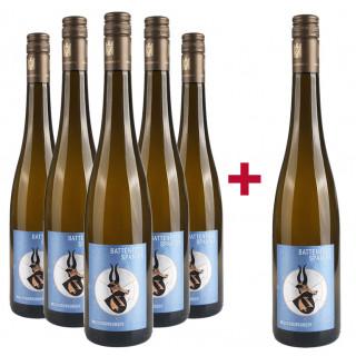 5+1 Paket WEISSBURGUNDER - VDP.Gutswein - Weingut Battenfeld-Spanier