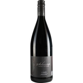 2018 Cuvee aus drei halbtrocken 1L - Weingut Schaurer