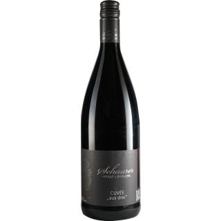2018 Cuvee aus drei trocken 1,0 L - Weingut Schaurer